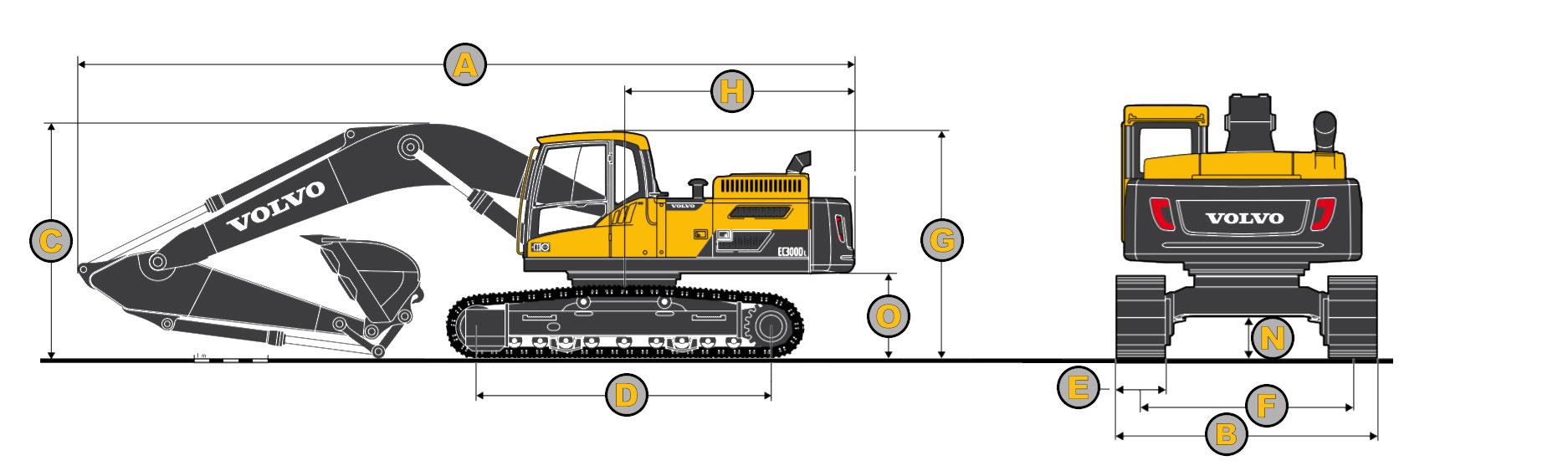 EC300DL-Diagram